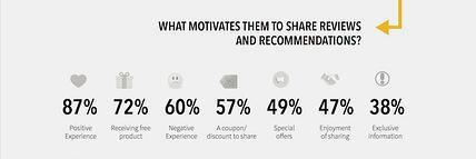 motivation for social media reviews