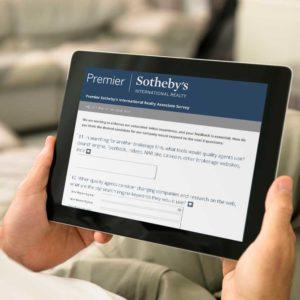 Home buyer survey ipad