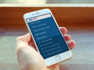 Mobile Navigation Home Builders