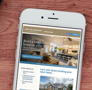 Email marketing for home builders