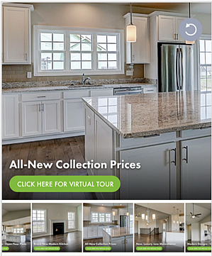Example ad for home tour with carousel